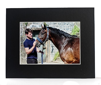 Black Picture Mounts from Carters Mounts